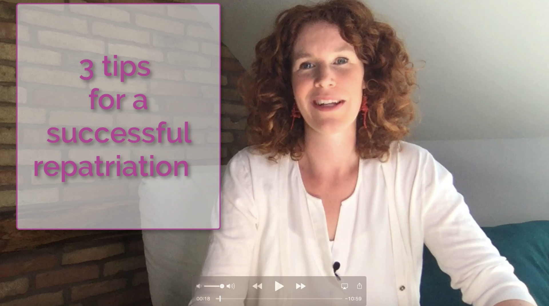 How to have a successful repatriation – 3 tips for expat partners